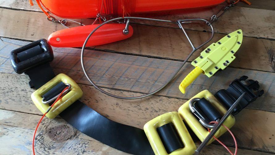 魚突きで非常に便利な「メグシ」の使い方と装着方法